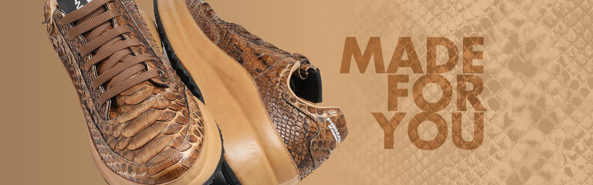 MADE FOR YOU - Scarpe in vera pelle di pitone e prodotte esclusivamente per te